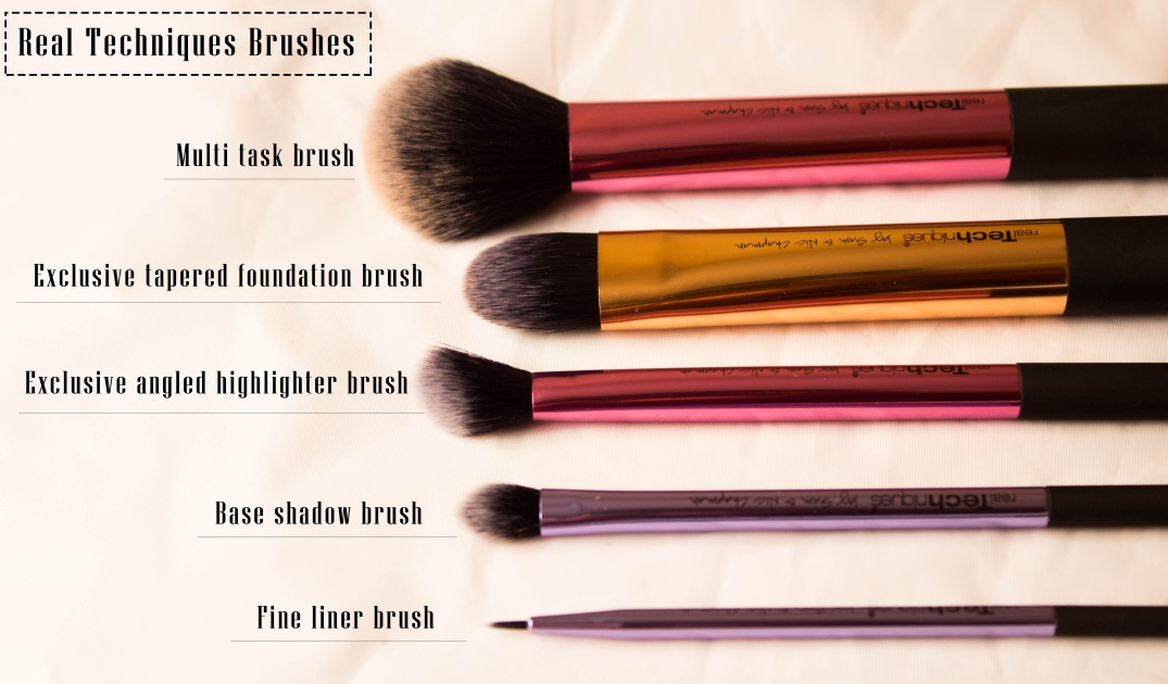 real techniques brushes review. real techniques \u2013 deluxe gift set brushes review
